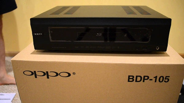 Oppo Blu-ray Disc Player BDP-105D (Black)